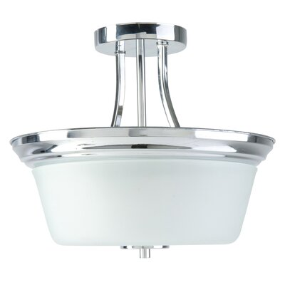 Markam 2-Light Semi Flush Mount