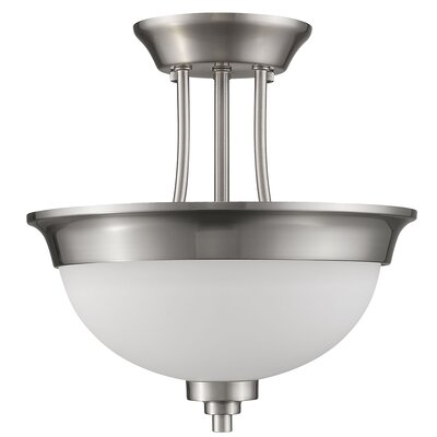 Vitoria 2-Light Semi Flush Mount