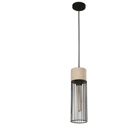 Ciment 1-Light Foyer Pendant