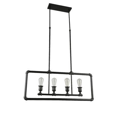Amesbury 4-Light Kitchen Island Pendant
