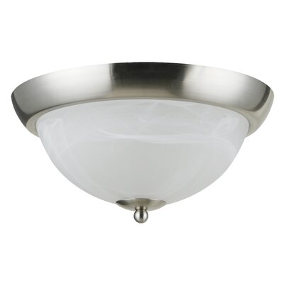 Holt 2-Light Flush Mount