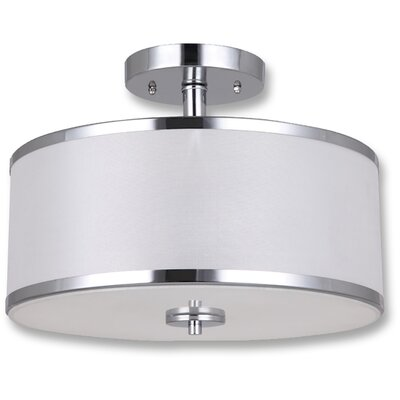 Ivyland 2-Light Semi-Flush Mount