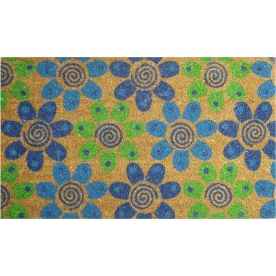 EcoGrip Flowers Doormat