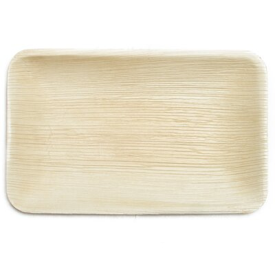 "9"" Compostable and Sustainable Fallen Palm Leaf Plate"