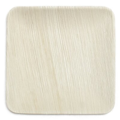 "8"" Compostable Eco Friendly Palm Leaf Plate"