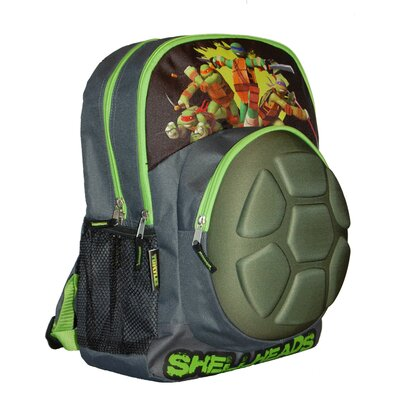 ACCESSORY INNOVATIONS Teenage Mutant Ninja Turtles Shellhead 16-Inch Backpack