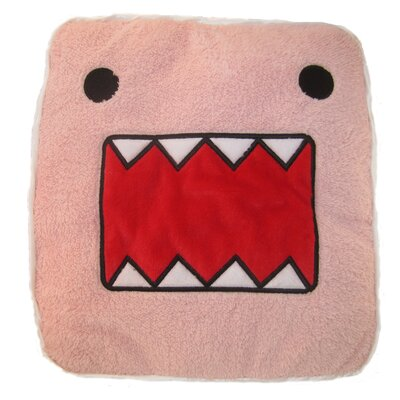 Domo Pink Face Throw Pillow