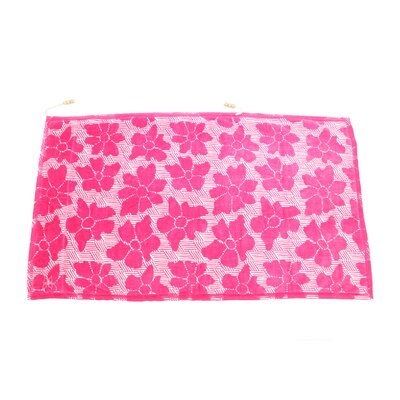Embrace Casmus Beach Towel Color: Pink