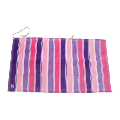 Embrace Ombre Crescent Beach Towel Color: Pink