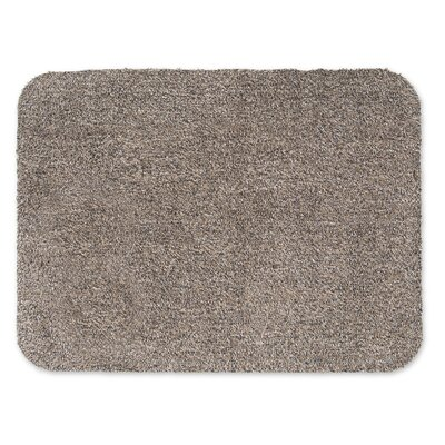 Mud Taupe Indoor/Outdoor Area Rug Rug Size: 25 x 33