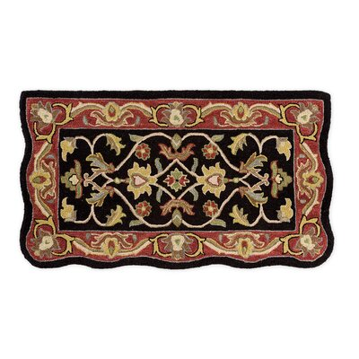 McLean Hand-Tufted Wool Black Area Rug
