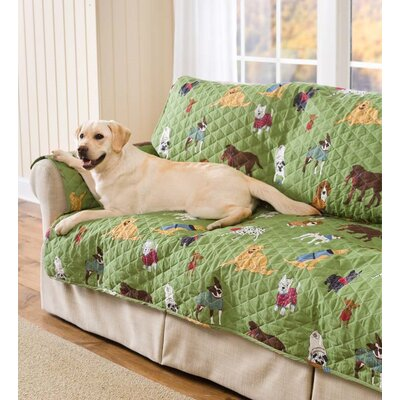 Doggone Cotton Sofa Slipcover