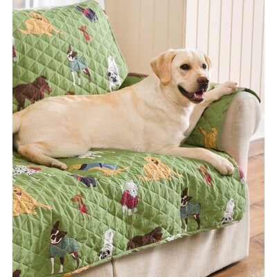 Doggone Good Time Pet Arm Chair Cover