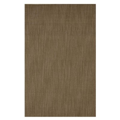 Hand-Tufted Mocha Area Rug