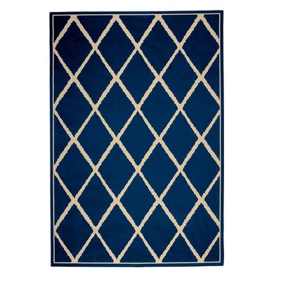 Surry Navy Indoor/Outdoor Area Rug Rug Size: 710 x 1010