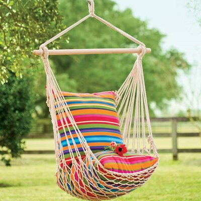 Rope Cotton and Polyester Chair Hammock