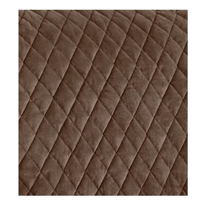 T-Cushion Armchair Slipcover Color: Chocolate