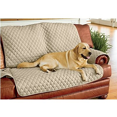 Polyester Sofa Slipcover Color: Taupe