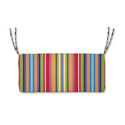 Bench Cushion Fabric: Fiesta Stripe
