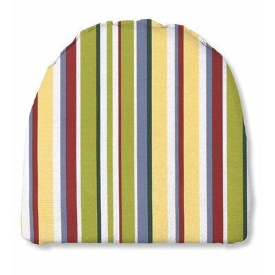 Outdoor Chair Cushion Fabric: Carnival stripe