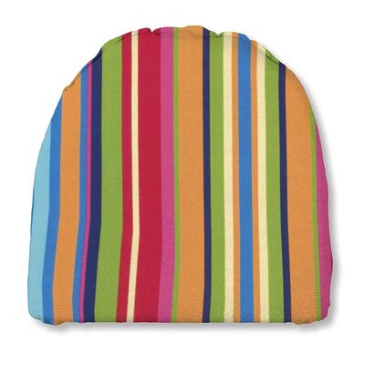 Outdoor Chair Cushion Fabric: Fiesta stripe