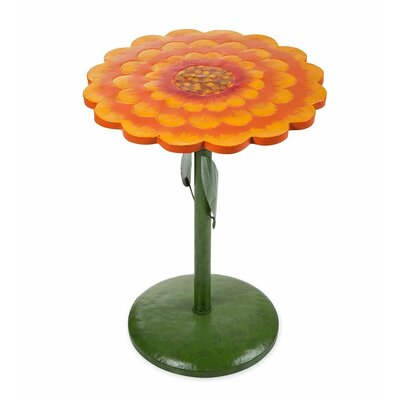 Zinnia Side Table Color: Orange