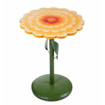Zinnia Side Table Color: Yellow