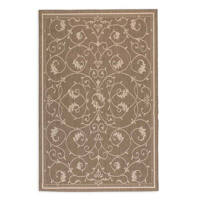 Veranda Scroll Indoor/Outdoor Area Rug