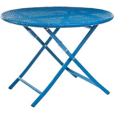 Bistro Table Color: Blue