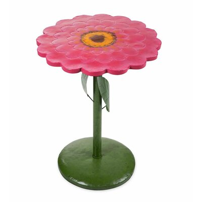 Zinnia Side Table Color: Pink