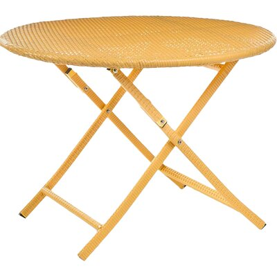 Bistro Table Color: Yellow