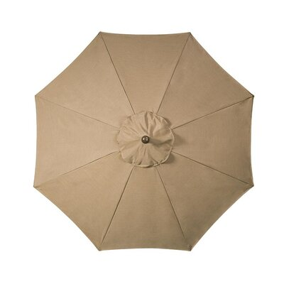 9 Market Umbrella Fabric: Birch