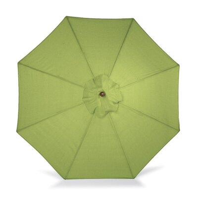 9 Market Umbrella Fabric: Leaf Green