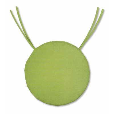 Outdoor Dining Chair Cushion Fabric: Leaf Green