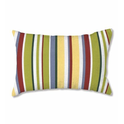Polyester Classic Lumbar Pillow Color: Carnival Stripe
