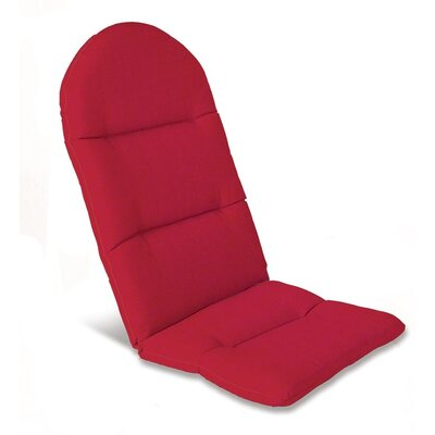 Outdoor Adirondack Cushions Color: Solid Red