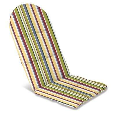 Outdoor Adirondack Cushions Color: Carnival Stripe