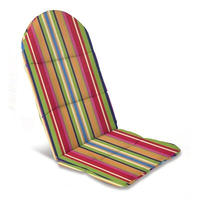 Outdoor Adirondack Cushions Color: Fiesta Stripe