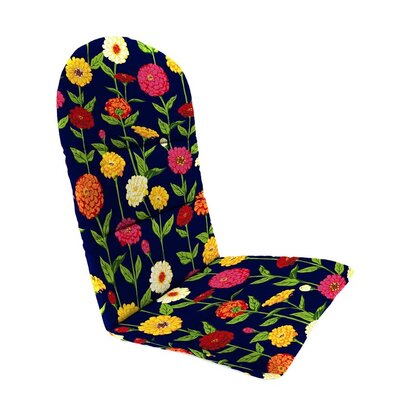 Outdoor Adirondack Cushions Color: Navy Zinnia