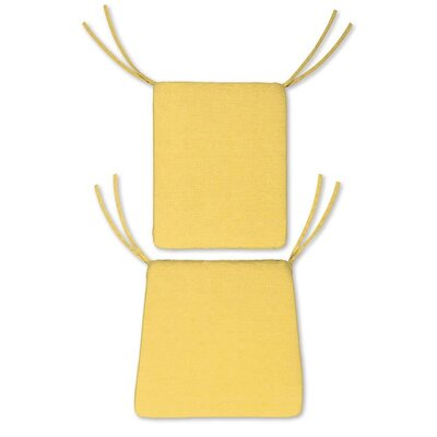Outdoor Rocking Chair Cushions Color: Solid Butter