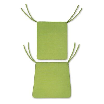 Outdoor Rocking Chair Cushions Color: Leaf Green