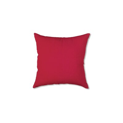 Polyester Classic Throw Pillow Fabric: Red