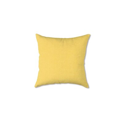 Polyester Classic Throw Pillow Fabric: Butter