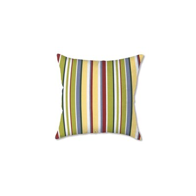 Polyester Classic Throw Pillow Fabric: American Stripe
