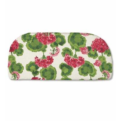 Classic Outdoor Bench Cushion Color: Geranium