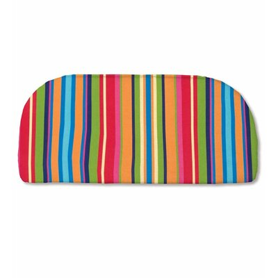 Classic Outdoor Bench Cushion Color: Fiesta Stripe