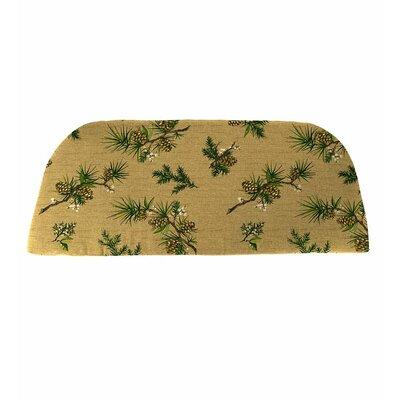 Classic Outdoor Bench Cushion Color: Pinecone Beige