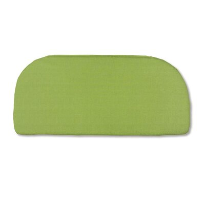 Classic Outdoor Bench Cushion Color: Leaf Green