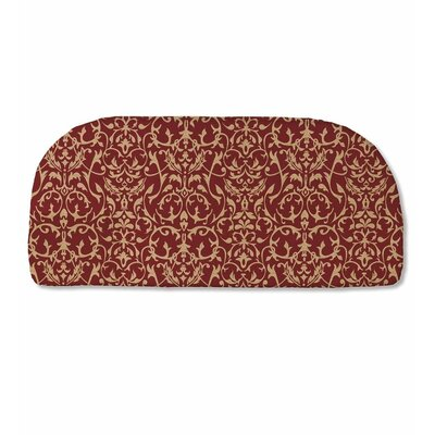 Classic Outdoor Bench Cushion Color: Brick Scroll
