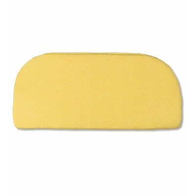 Classic Outdoor Bench Cushion Color: Solid Butter